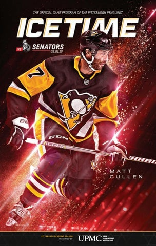 buy online 82ddc e50e9 IceTime - Game 26 vs. Ottawa Senators 02.01.19 by Pittsburgh ...