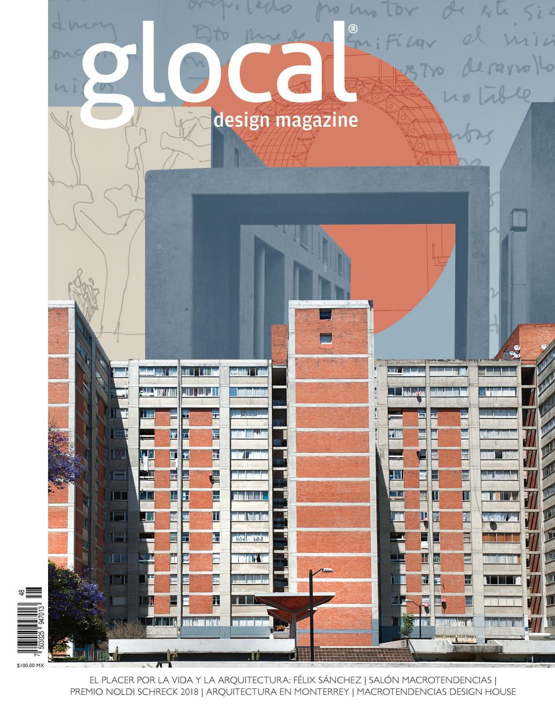 07545ad9be2fa 48 Portada por Cover by Arq. Félix Sánchez by GLOCAL DESIGN MAGAZINE - issuu