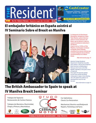 The Resident Newspaper February 2019 By Manilva Media Workshop Sll