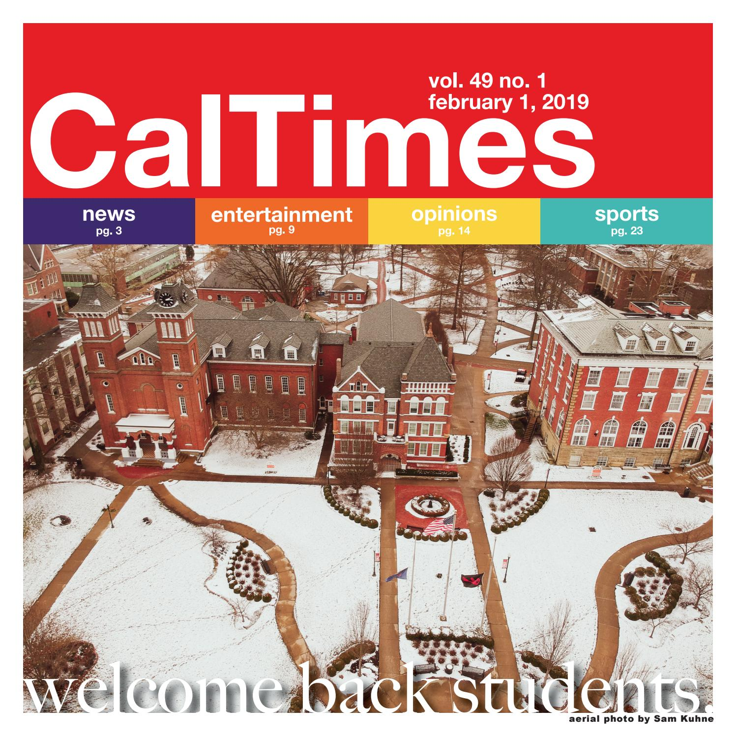Cal Times Feb. 1, 2019 by Cal Times - issuu