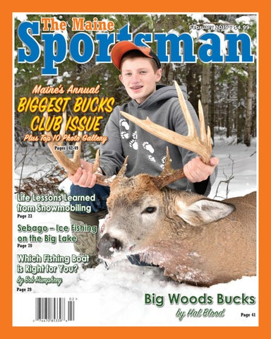 923ab851968 The Maine Sportsman - February 2019 by The Maine Sportsman - Digital ...