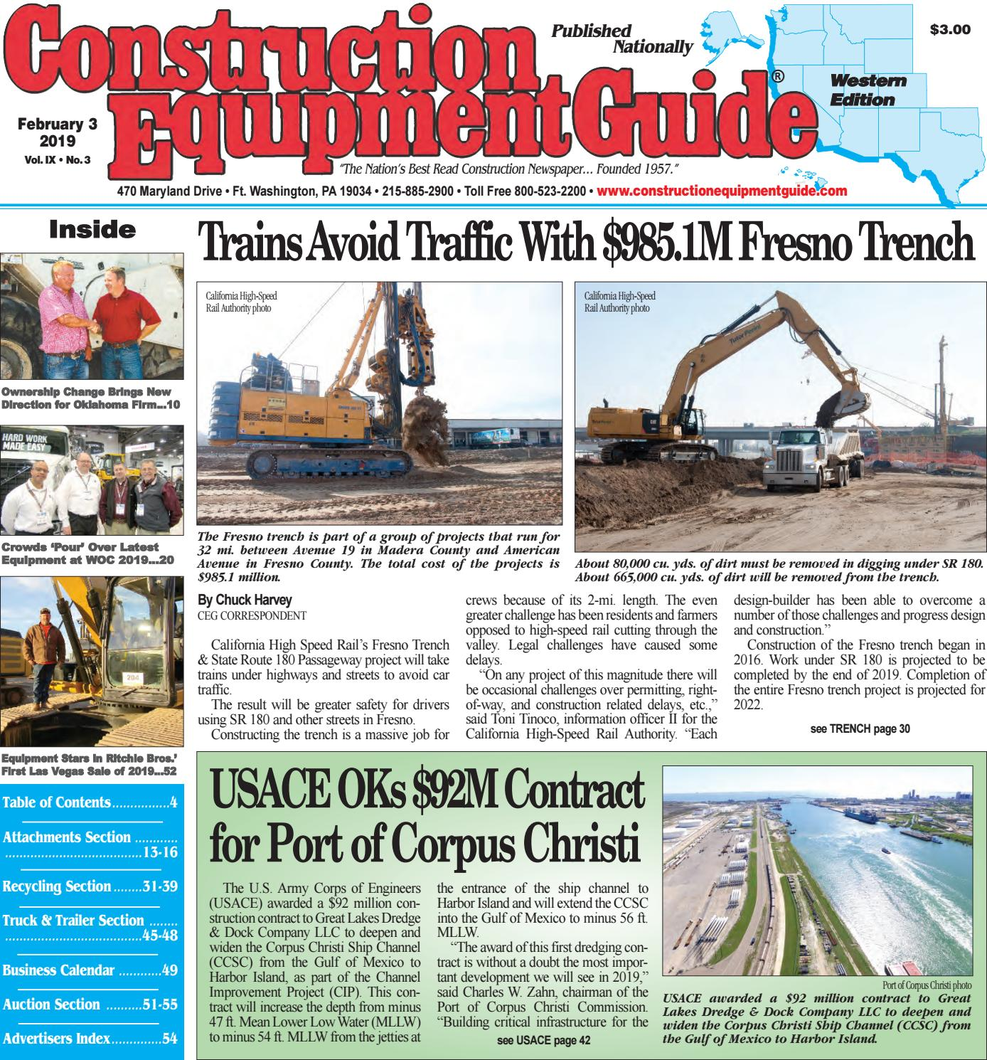 West 3 February 3, 2019 by Construction Equipment Guide - issuu