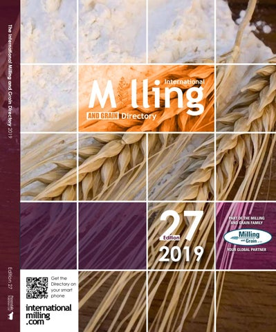The International Milling Directory 2019 - edition 27 by