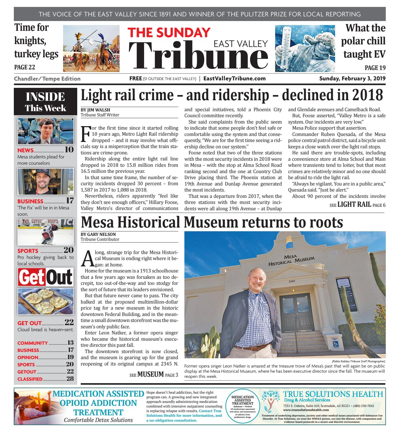 9e8f9c7e4e8f East Valley Tribune - Chandler 02-03-2019 by Times Media Group - issuu