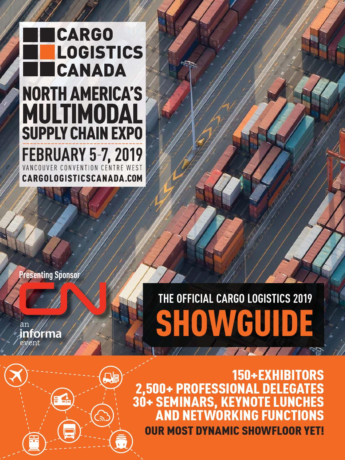 Cargo Logistics Showguide 2019 by Business in Vancouver Media Group