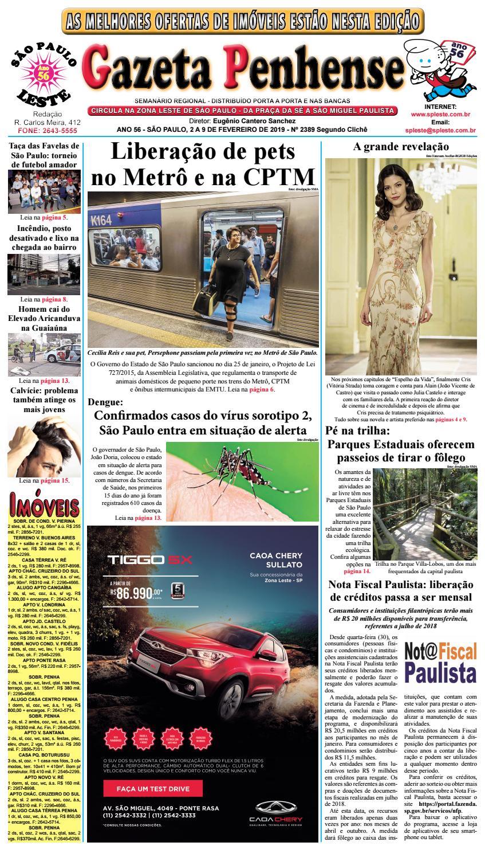 34c7d17b50a Gazeta Penhense edição 2389 Segundo Clichê - 02 a 09 02 19 by Marcelo  Cantero - issuu