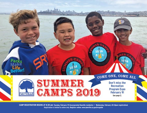 Danville 2019 Summer Camps Brochure by Town of Danville - issuu