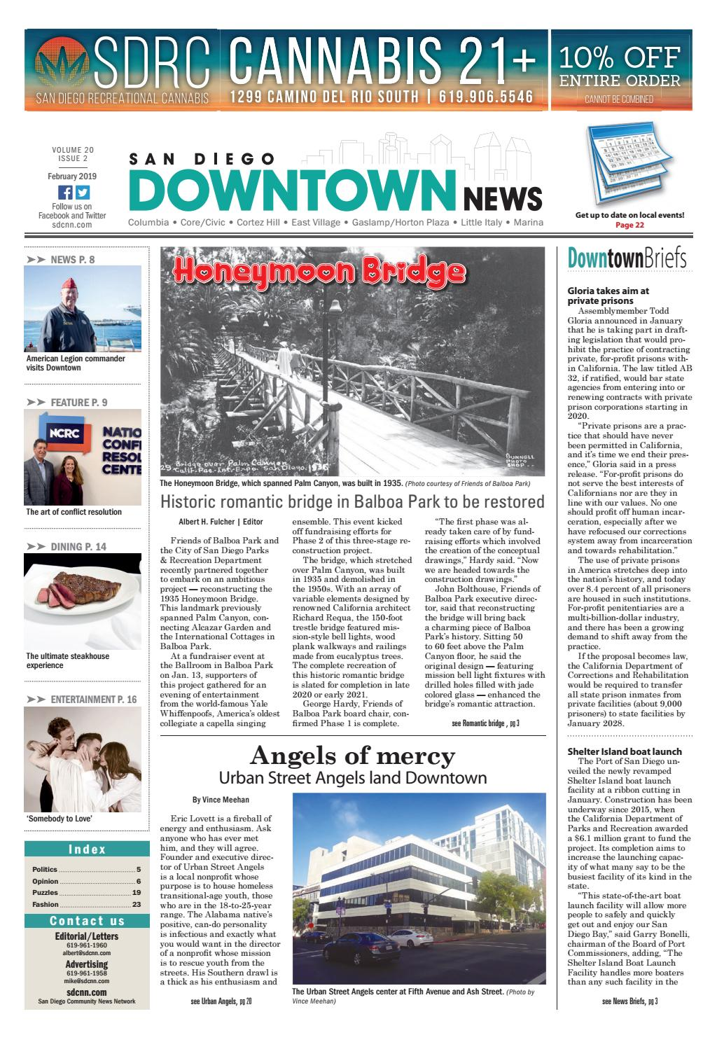 San Diego Downtown News, Vol  20, Issue 2 by SDCNN - issuu