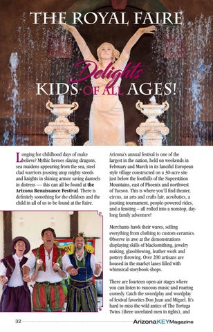 Page 32 of The Royal Faire Delights Kids of All Ages