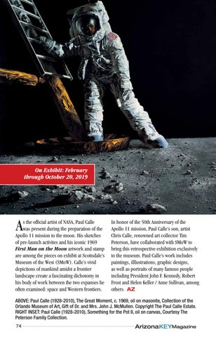 Page 74 of Paul Calle's Life of Exploration: From the Mountains to the Moon