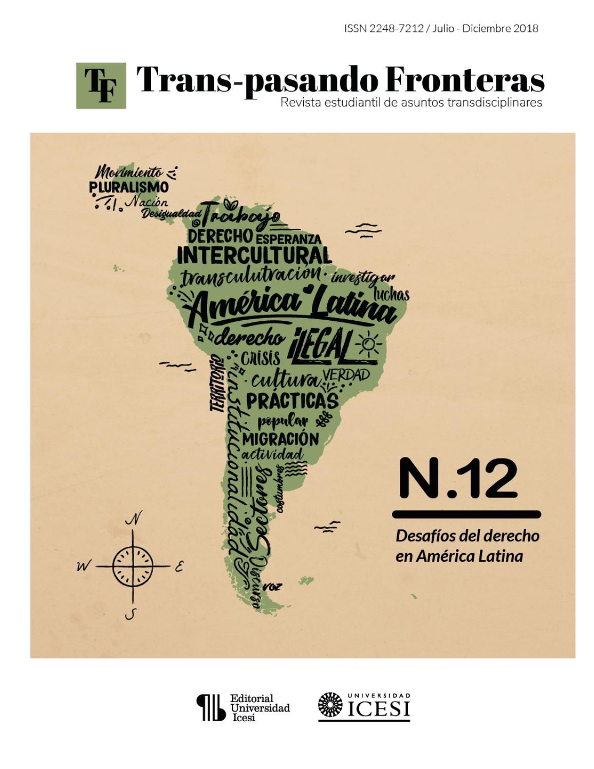 Desafíos del derecho en Amérca Latina by Trans-pasando