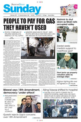 26c2da2218 E-Paper PDF 3rd February 2019 (KHI) by Pakistan Today - issuu