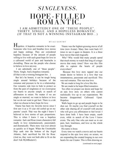 Page 27 of Singleness