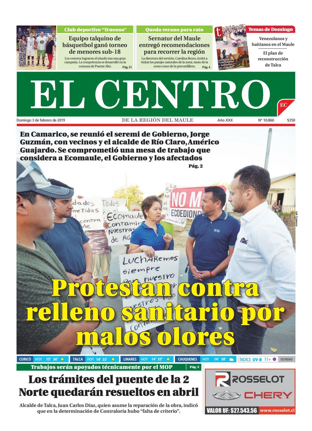 29002d4ff65 Diario 03-02-2019 by Diario El Centro S.A - issuu