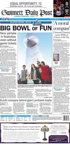 February 3, 2019 — Gwinnett Daily Post by Gwinnett Daily Post - issuu