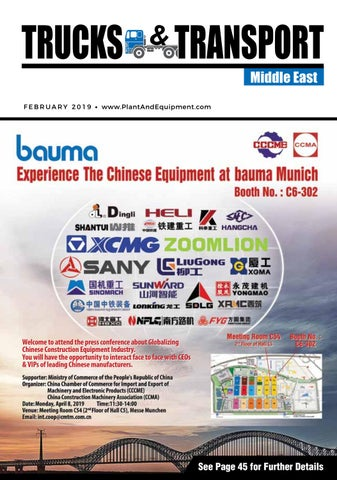 133d7c893 Trucks & Transport   Middle East   February 2019 Edition by Plant ...