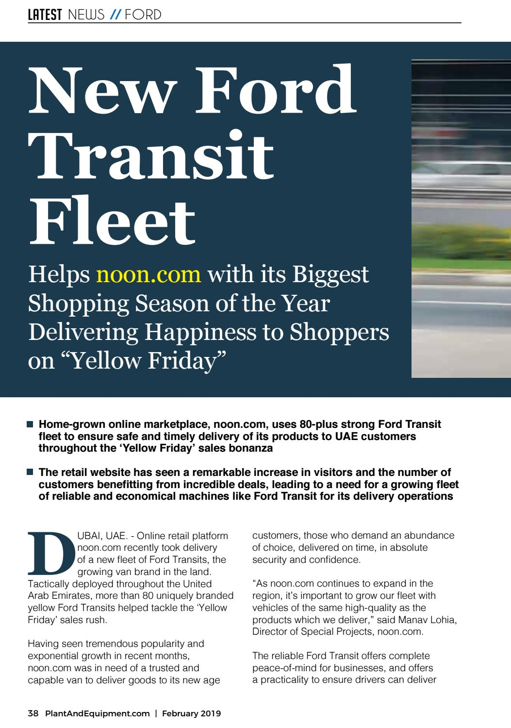 Trucks & Transport | Middle East | February 2019 Edition by