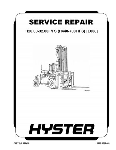 hyster e008 (h440f) forklift service repair manual
