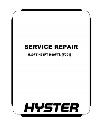 hyster f001 (h30ft) forklift service repair manual