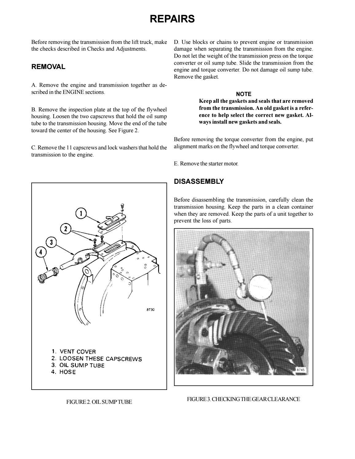 Hyster F003 (H2 50J Europe) Forklift Service Repair Manual