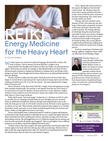 Page 21 of Reiki - Energy Medicine for the Heavy Heart