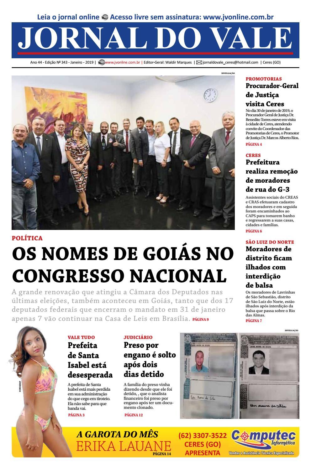 0a4cd4ccc2 Jornal do Vale - Edição 343 - Janeiro 2019 by jornal do vale - issuu