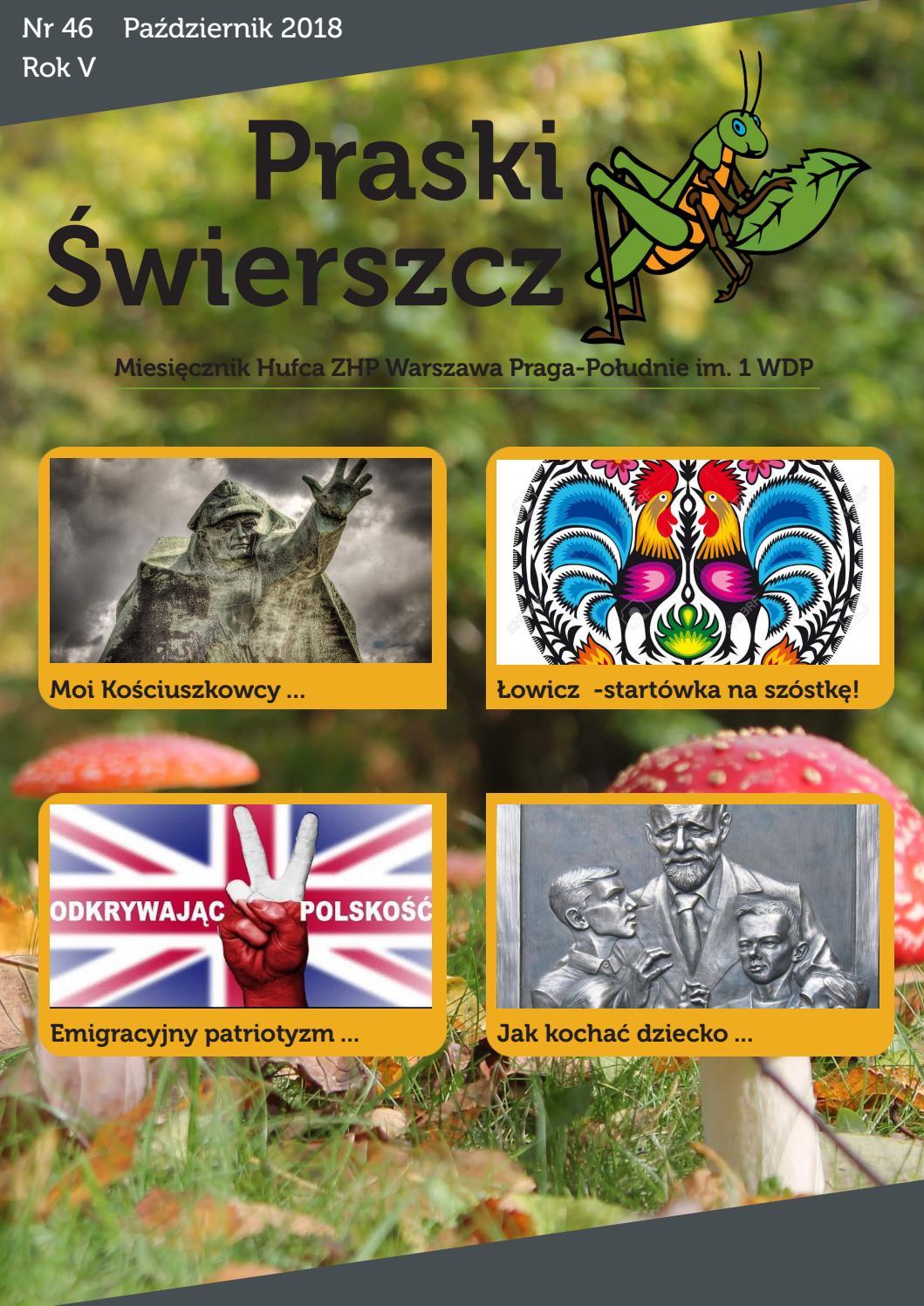 Praski świerszcz Nr 46 By Zhp Praga Południe Issuu