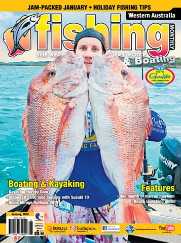 f6088332d4 Western Australia Fishing Monthly January 2019 by Fishing Monthly ...
