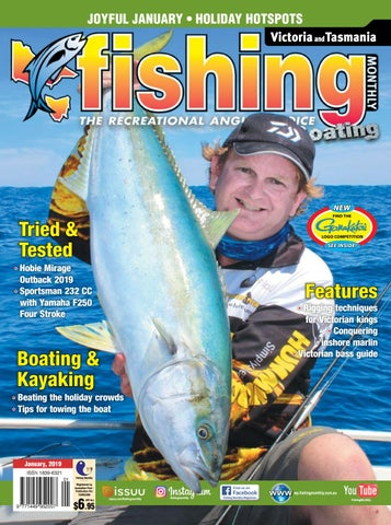 Victoria and Tasmania Fishing Monthly January 2019 by Fishing
