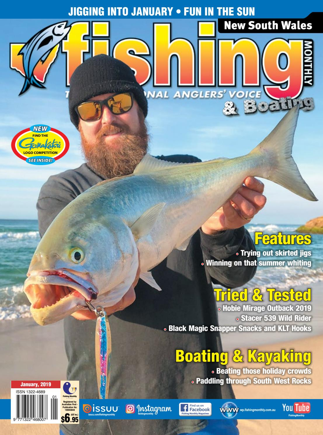 NSW Fishing Monthly January 2019 by Fishing Monthly - issuu