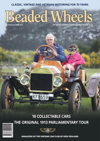 Beaded Wheels Issue 350 February/March 2018 by Vintage Car Club of