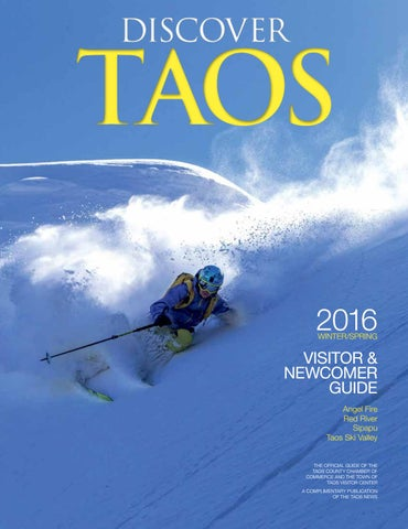 2016 Discover Taos Winter Visitors Guide by mmgdezign - issuu