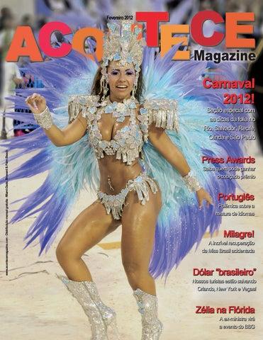 9b899c602 Revista Acontece Magazine Miami - Fevereiro 2012 by Portal Academia ...