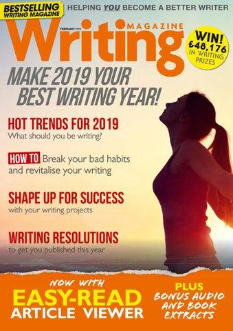 b85de626b Writing magazine February 2019 by Maywish - issuu