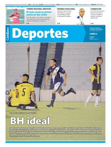 ae2a627ee5074 Deportes 04 02 19 by Diario Castellanos - issuu
