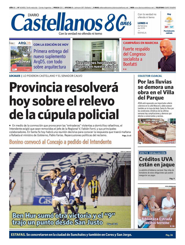4e47c0034b243 Diario Castellanos 04 02 19 by Diario Castellanos - issuu