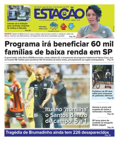 f3f086490caac Jornal Estação de 04 02 2019 - Ed. 1246 by Jornal Estação - issuu