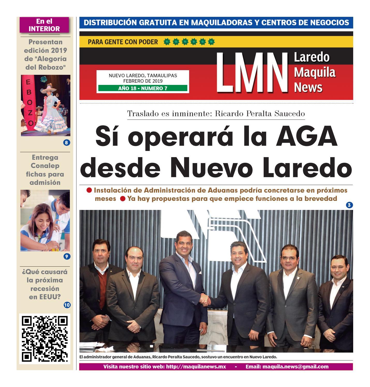 Laredo Maquila News /Febrero 2019 by Laredo Maquila - issuu