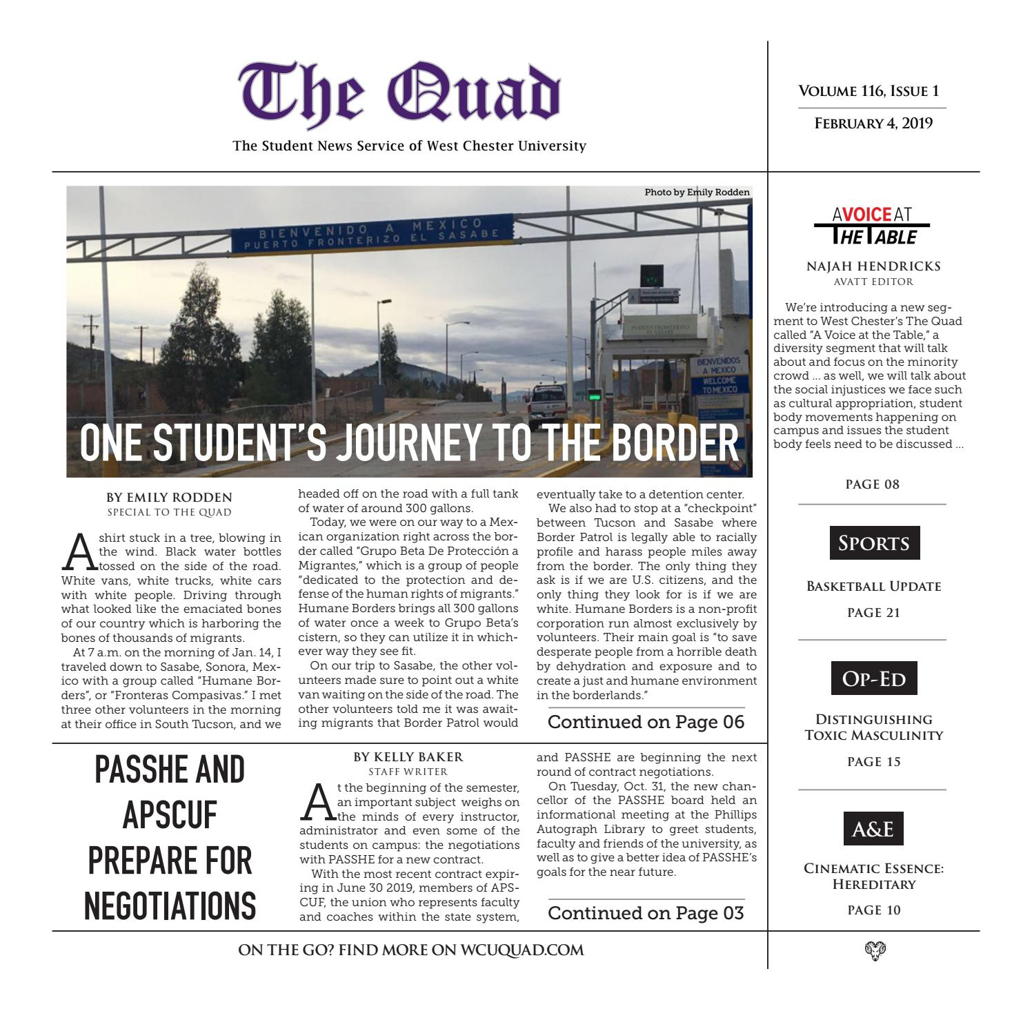 The Quad Issue 116-01 by The Quad - issuu
