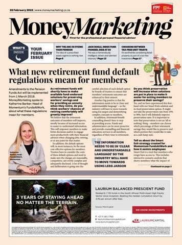 MoneyMarketing February 2019 by New Media B2B - issuu