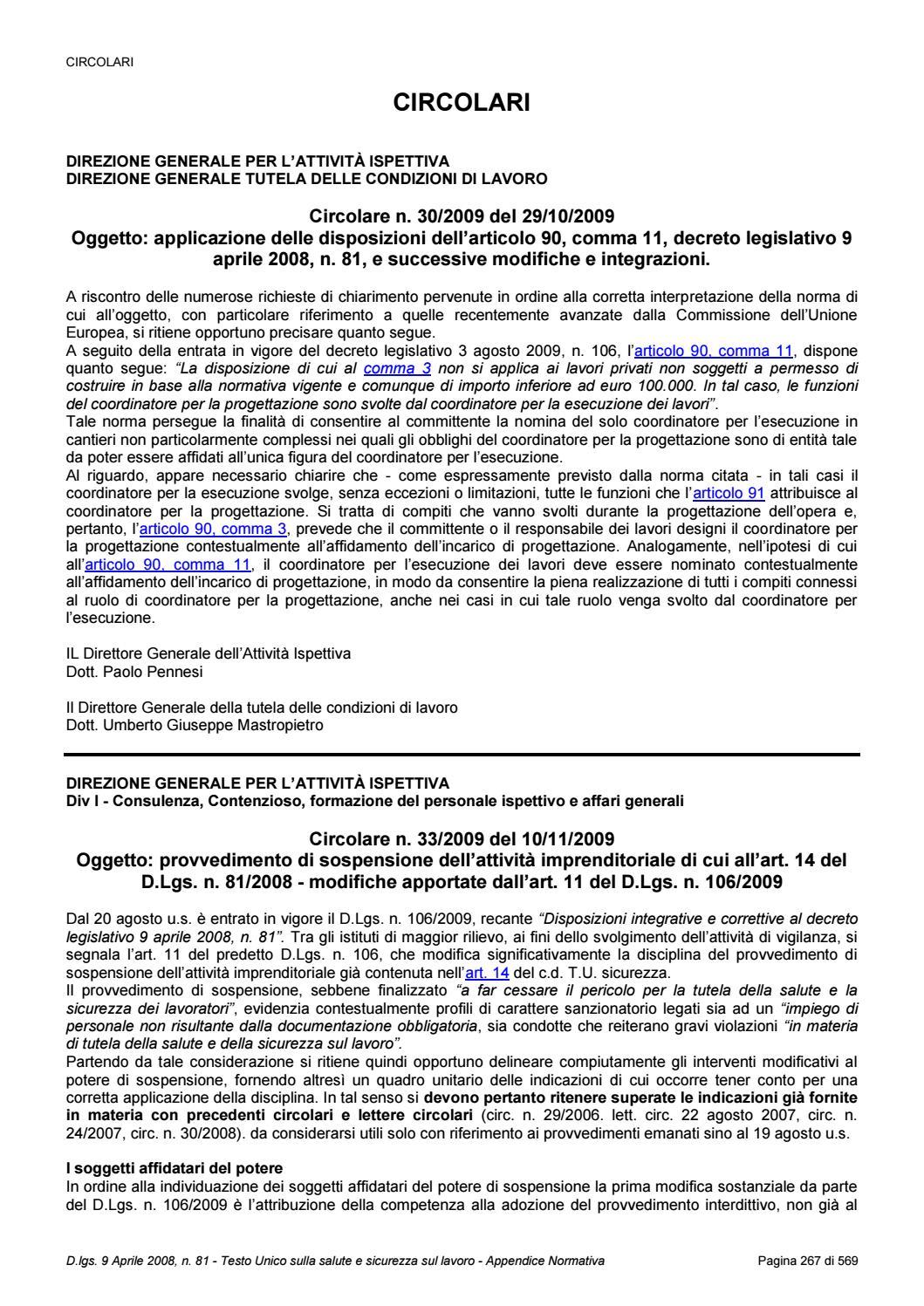 Guida Alla Sicurezza Delle Scaffalature Industriali E Dei Soppalchi.T U 81 08 E Smi Edizione Gennaio 2019 Circolari By