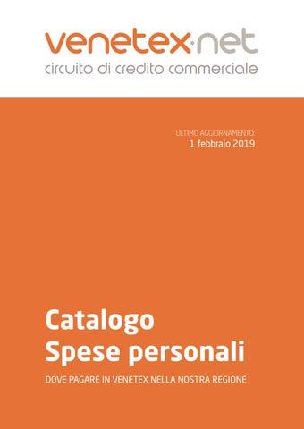 11a0351444 Catalogo spese personali 2019 by Venetex.net - issuu