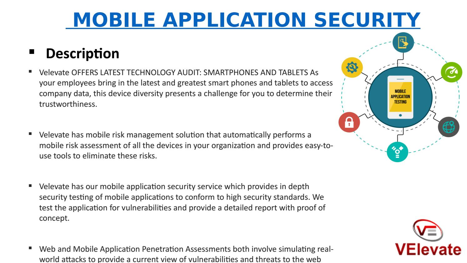 Mobile Application Security Services ppt by velevate11 - issuu