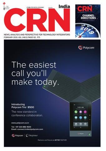 CRN India (Vol 1, No 11) February, 2019
