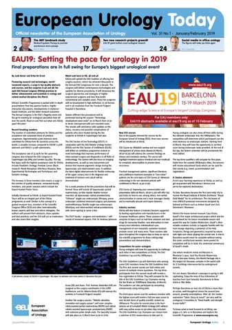 European Urology Today January - March 2019 by European Association