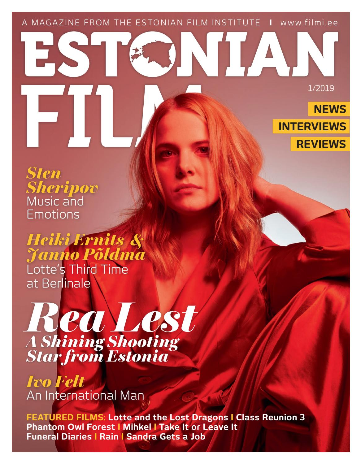 Estonian Film 2019/1 by Eesti Filmi Instituut - issuu