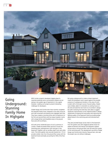 Page 4 of Going Underground: Stunning family home in Highgate