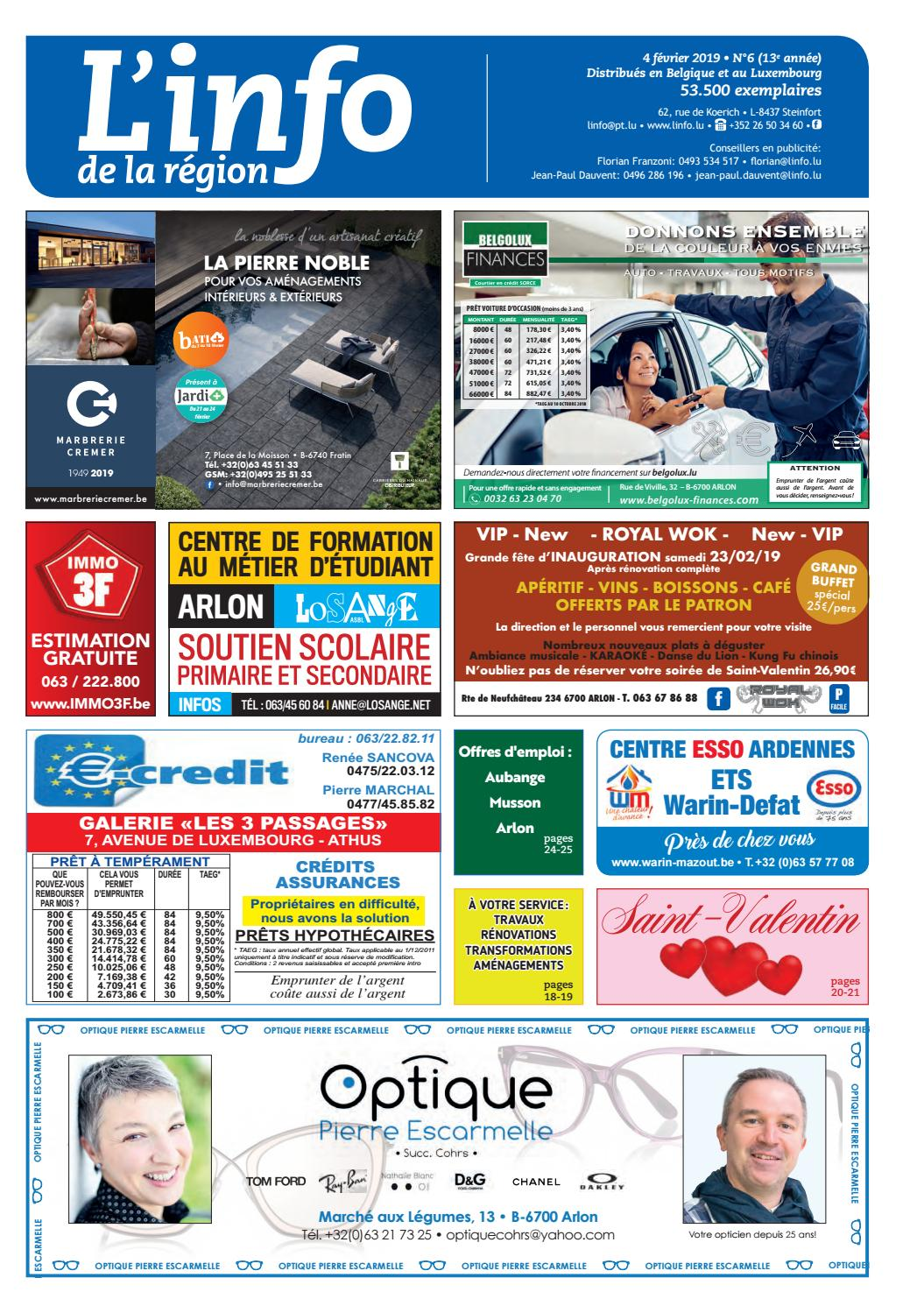 Edition Inside 6 De La Issuu L'info By Région YH2EeWID9