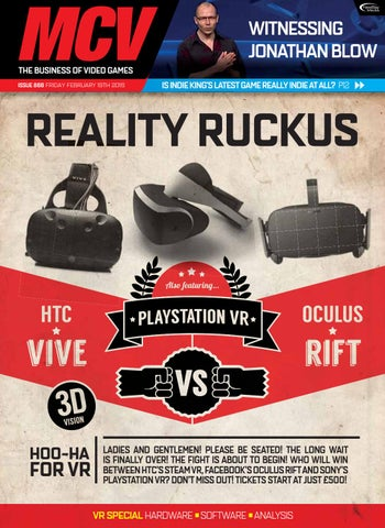 d5722684c402 WITNESSING JONATHAN BLOW THE BUSINESS OF VIDEO GAMES ISSUE 866 FRIDAY  FEBRUARY 19TH 2016