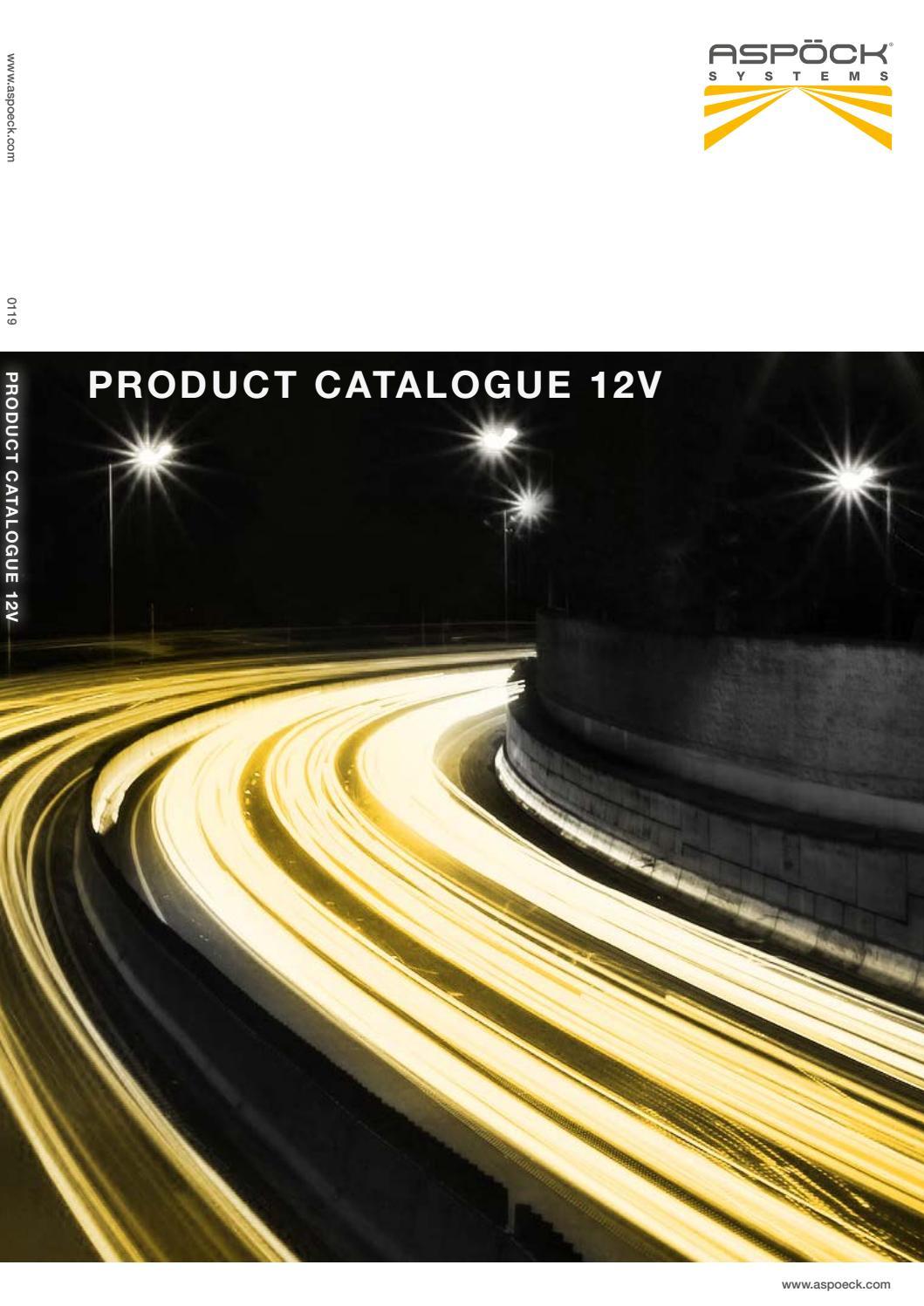 7 Pin Plastic Caravan Socket with Fog Lamp Cut Out 12V ISO 1724